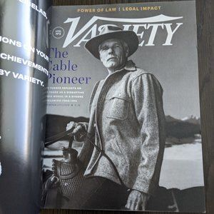 Other - VARIETY Magazine April 2019 Ted Turner Billy